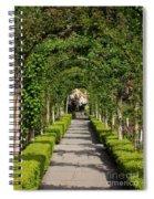 Garden Arbor Path Spiral Notebook