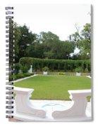 Garden At Crane Cottage Spiral Notebook