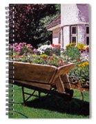 Garden At Patio Lane Spiral Notebook