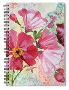 Garden Beauty-jp2954b Spiral Notebook