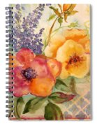 Garden Beauty-jp2955b Spiral Notebook