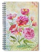 Garden Beauty-jp2957 Spiral Notebook