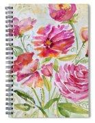 Garden Beauty-jp2957b Spiral Notebook