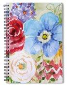 Garden Beauty-jp2958b Spiral Notebook