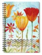 Garden Beauty-jp2960b Spiral Notebook