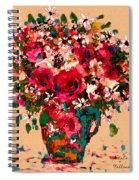 Garden Bouquet Spiral Notebook