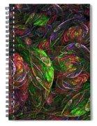 Garden Bright  Spiral Notebook