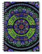 Garden Buddha Mandala Spiral Notebook