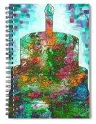 Garden Cake Spiral Notebook
