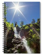 Garden Creek Falls Spiral Notebook