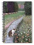 Garden Delights I Spiral Notebook