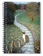 Garden Delights II Spiral Notebook