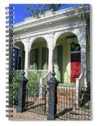Garden District 23 Spiral Notebook