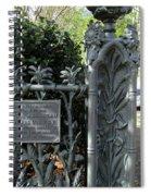 Garden District 3 Spiral Notebook