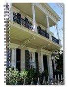 Garden District 31 Spiral Notebook