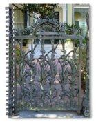 Garden District 8 Spiral Notebook