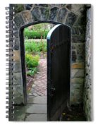 Garden Door Spiral Notebook