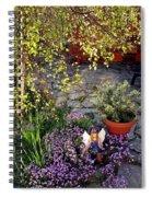 Garden Fairy Spiral Notebook