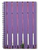 garden Fence Spiral Notebook
