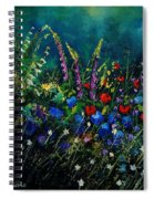Garden Flowers 56 Spiral Notebook