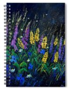 Garden Flowers 679080 Spiral Notebook