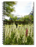 Garden Flowers At The Governor's Palace Spiral Notebook