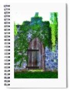 Garden Gate At The Highlands Spiral Notebook