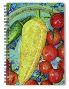Garden Harvest Spiral Notebook