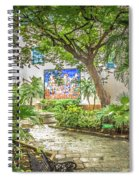 Garden In The Square Spiral Notebook