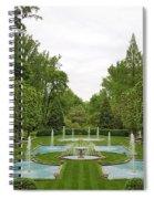 Italian Fountains Of The Garden Spiral Notebook