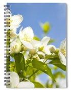 Garden Jasmin Spiral Notebook