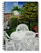 Garden Lights Spiral Notebook
