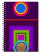 Garden Mauve Spiral Notebook