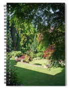 Garden Morning Spiral Notebook
