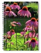Garden Of Cones Spiral Notebook
