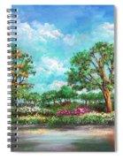 Summer In The Garden Of Eden Spiral Notebook