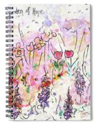 Garden Of Hope  Spiral Notebook