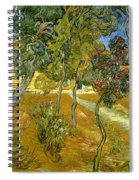 Garden Of Saint Paul's Hospital Spiral Notebook