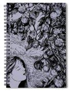 Garden Of Temptation Spiral Notebook