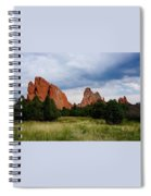 Garden Of The Gods Spiral Notebook