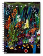 Garden Of Wishes Spiral Notebook