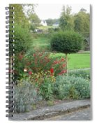 Garden On The Banks Of The Nore Spiral Notebook