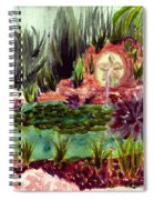 Garden Path Spiral Notebook