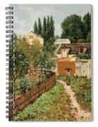 Garden Path In Louveciennes Spiral Notebook