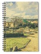 Garden Paths And Courtyards Spiral Notebook