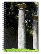 Garden Pillars Spiral Notebook