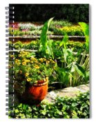 Garden Pond Spiral Notebook