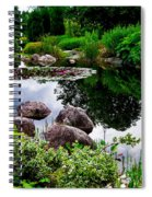 Garden Reflections ... Spiral Notebook