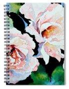 Garden Roses Spiral Notebook