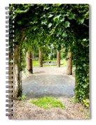 Garden Ruins Spiral Notebook